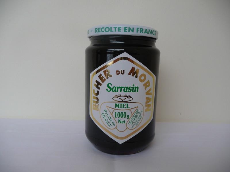 Miel de Sarrasin - Miels - Les Ruchers du Morvan - Voir en grand