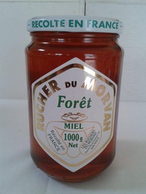 Miel de Forêt  - Miels - Les Ruchers du Morvan - Voir en grand