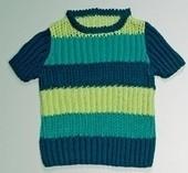 Pullover modèle enfant Quattro - Voir en grand