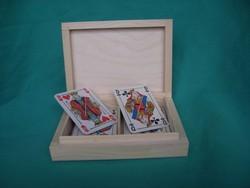Saboterie MARCHAND Morvan - Boites à cartes - Objets bois à décorer - SARL MARCHAND - Voir en grand