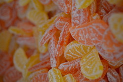Tranches orange-citron - Bonbons D'Antan - BONBONS SERVICE - Voir en grand