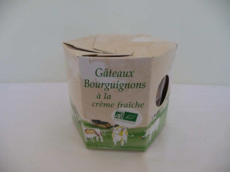 Galettes AB à la crème fraîche - Biscuits - Pain d'épices - Les Ruchers du Morvan - Voir en grand