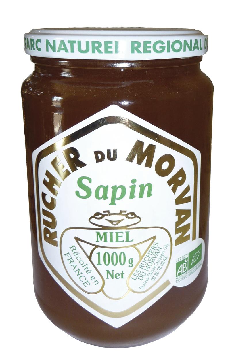 Miel de Sapin - Miels - Les Ruchers du Morvan - Voir en grand