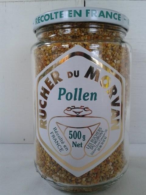 Pollen  - Produits dérivés - Les Ruchers du Morvan - Voir en grand