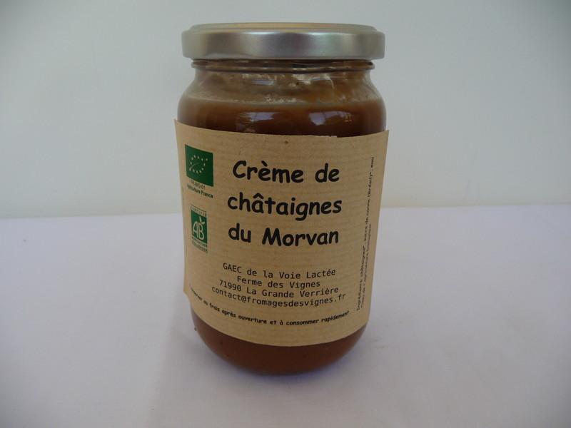 Crème de châtaignes - GAEC de la voie lactée - Les Ruchers du Morvan - Voir en grand