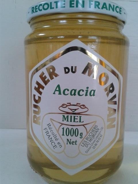 Miel d'Acacia - Miels - Les Ruchers du Morvan - Voir en grand