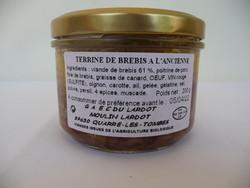 Terrine de brebis à l'ancienne - GAEC du Lardot - Les Ruchers du Morvan - Voir en grand
