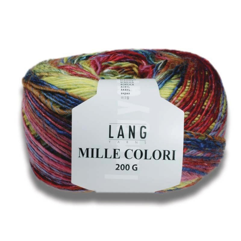 Pelote de laine Mille 200g - Voir en grand