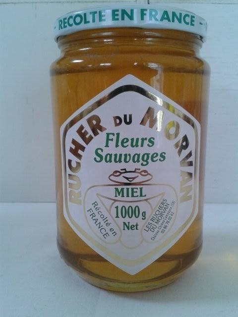 Miel de Fleurs Sauvages - Miels - Les Ruchers du Morvan - Voir en grand