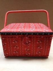 Petite Boîte à couture rectangle  - LE RANGEMENT - AU DE A COUDRE