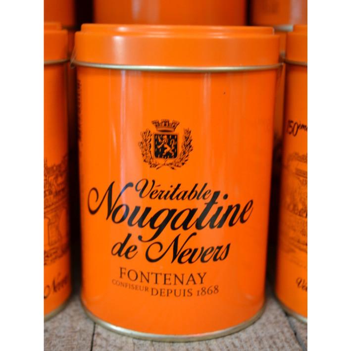 Boite Nougatines de Nevers 150g - Spécialités Nivernaises - BONBONS SERVICE - Voir en grand