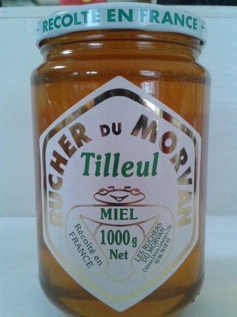 Miel  de Tilleul - Miels - Les Ruchers du Morvan - Voir en grand