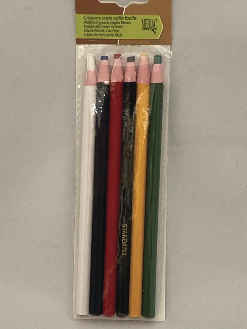Crayons craie à taille facile - ACCESSOIRES DE MARQUAGE - AU DE A COUDRE - Voir en grand