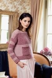 Pullover modèle femme