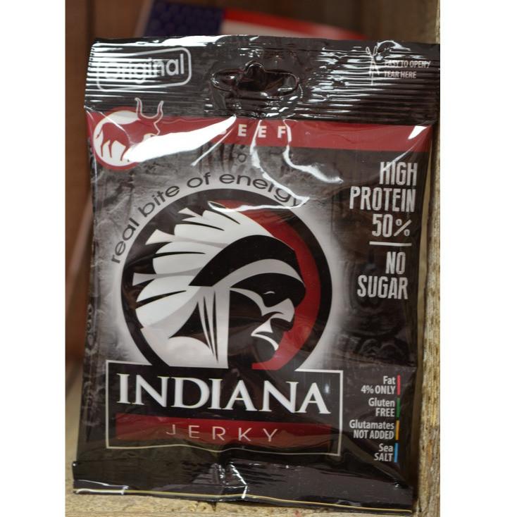 Indiana Beef Jerky/25g - Epicerie salée - BONBONS SERVICE - Voir en grand