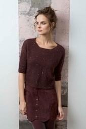 Pullover modèle femme Mohair LUxe - Voir en grand
