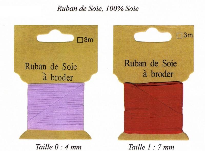 Ruban de soie - RUBANS DE SOIE - AU DE A COUDRE - Voir en grand