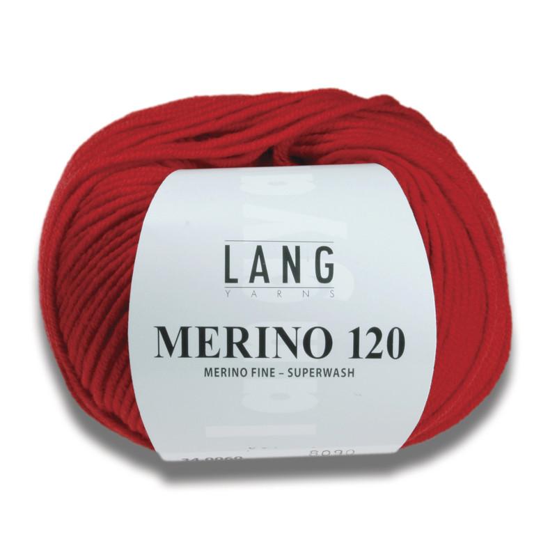 MERINO 120 - LAINE LANG - AU DE A COUDRE - Voir en grand