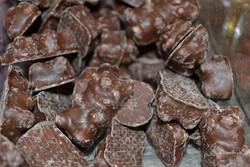 Ti ourson guimauve chocolat lait - Confiserie au poids / 50g  - BONBONS SERVICE - Voir en grand