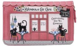Portefeuille Moyen VENDULA LONDON Cat Café - Portefeuilles VENDULA LONDON - Astarté - Voir en grand