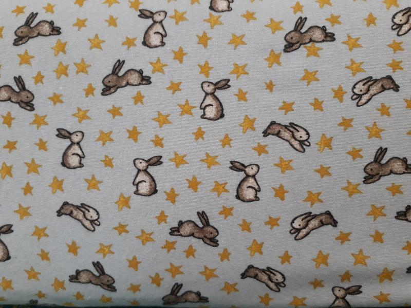 Flanelle coton Sweet Bunny - TISSUS COTON - AU DE A COUDRE - Voir en grand