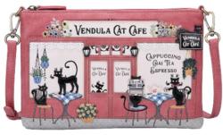 Sac Pochette VENDULA LONDON Cat Café Pouch Bag - Sacs VENDULA LONDON - Astarté - Voir en grand