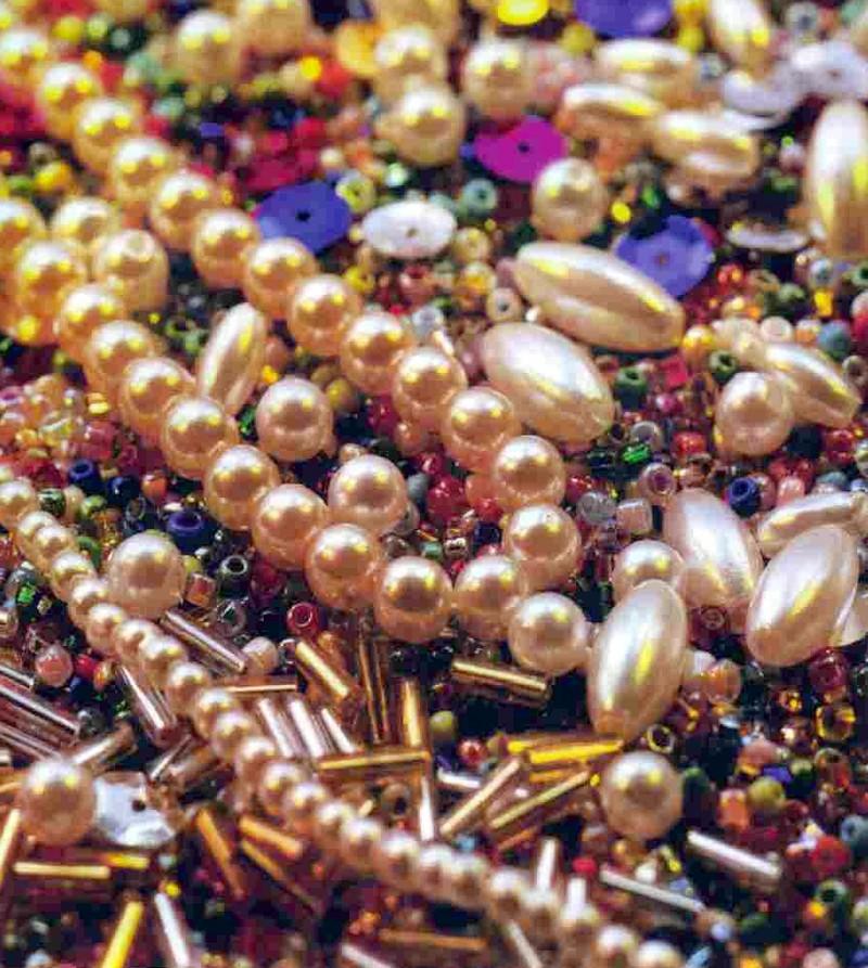 perles et paillettes - Voir en grand