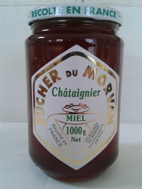 Miel de Châtaignier - Miels - Les Ruchers du Morvan - Voir en grand