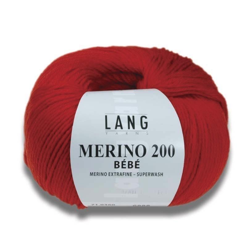 MERINO 200 BEBE - LAINE LANG - AU DE A COUDRE - Voir en grand