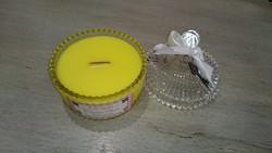 Bougie parfumée verveine citron - Voir en grand