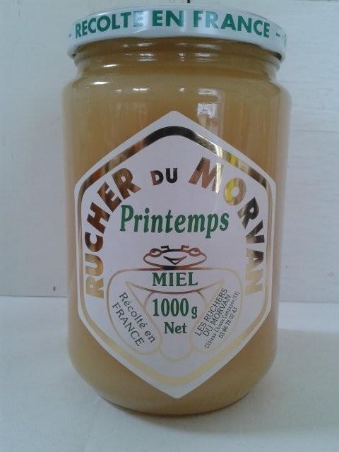 Miel de Printemps - Miels - Les Ruchers du Morvan - Voir en grand