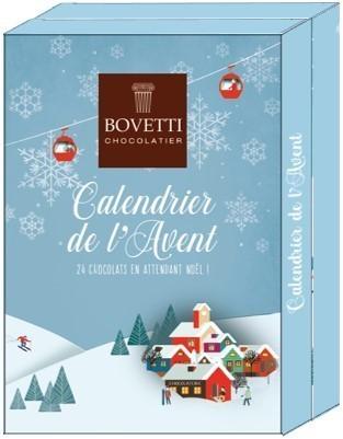 Calendrier de l'Avent 2020 - Bovetti Chocolatier - BONBONS SERVICE - Voir en grand