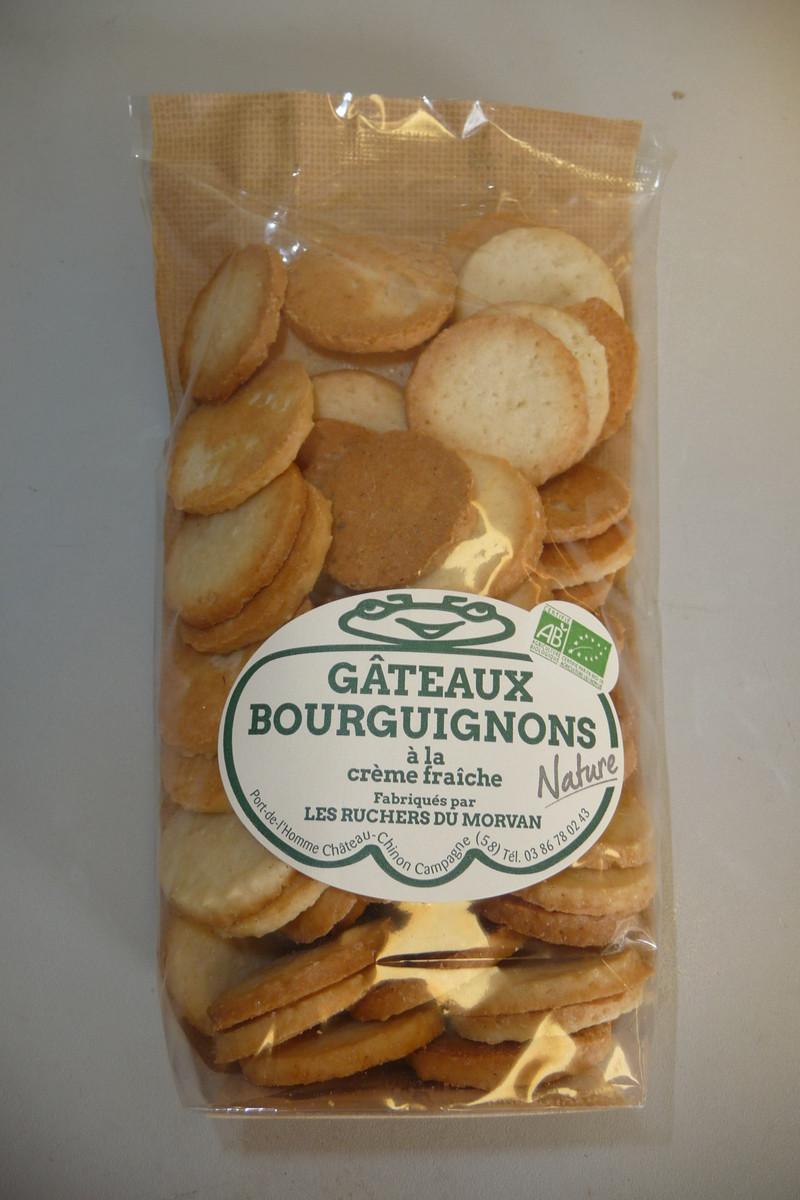 Gâteaux bourguignons AB nature - Biscuits - Pain d'épices - Les Ruchers du Morvan - Voir en grand