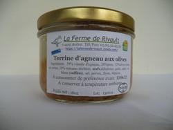 Terrine d'agneau aux olives - SCEA de Rivault - Les Ruchers du Morvan - Voir en grand