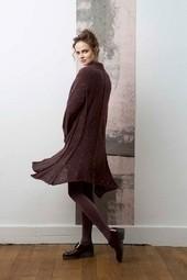 Manteau modèle femme Mohair Luxe - Voir en grand