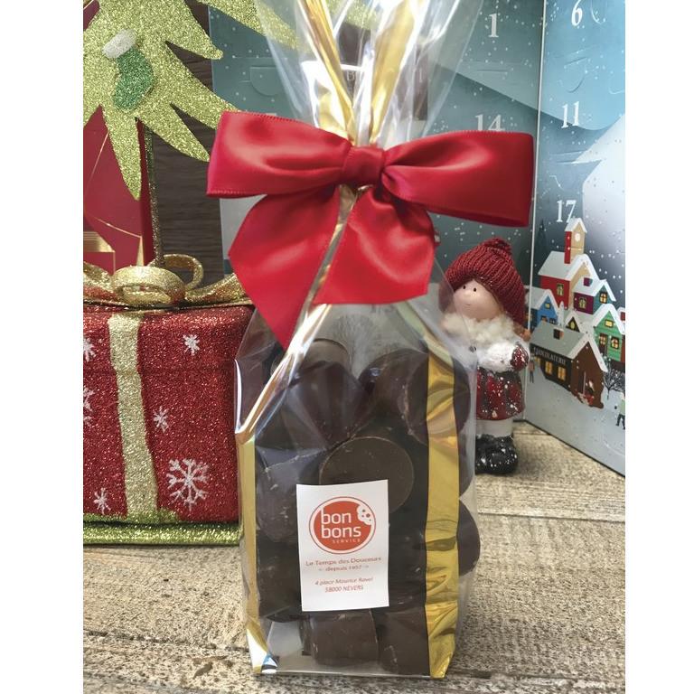 BOULES CREME KLAUS CHOCOLAT LAIT 200G - Noël et ses friandises - BONBONS SERVICE - Voir en grand