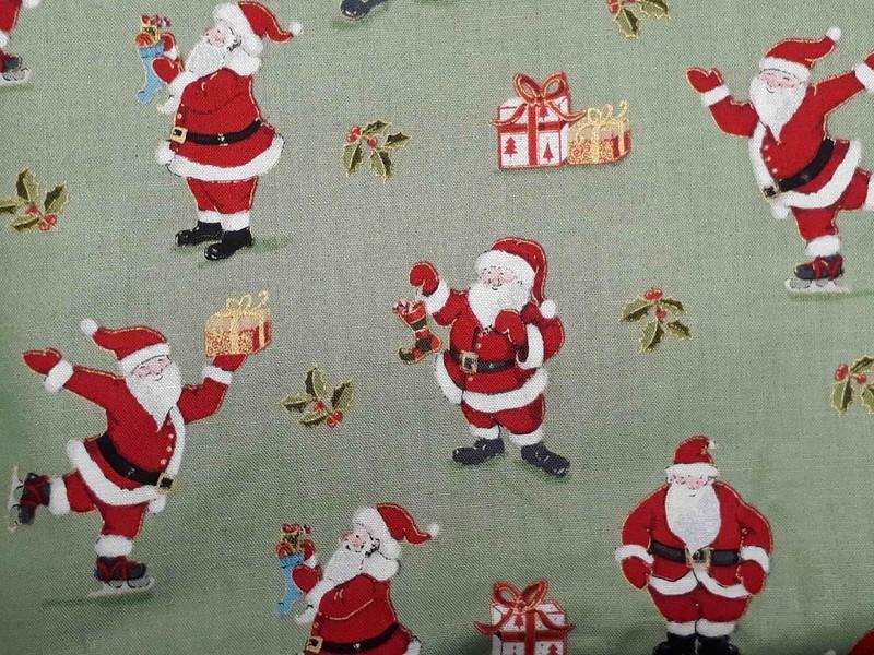 Tissus de Noël - TISSUS COTON - AU DE A COUDRE - Voir en grand