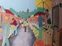 Marché de Dornes