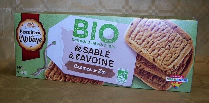 Le sablé à l'avoine - graines de lin  - Biscuits - La Cave d'Orgueil - Voir en grand