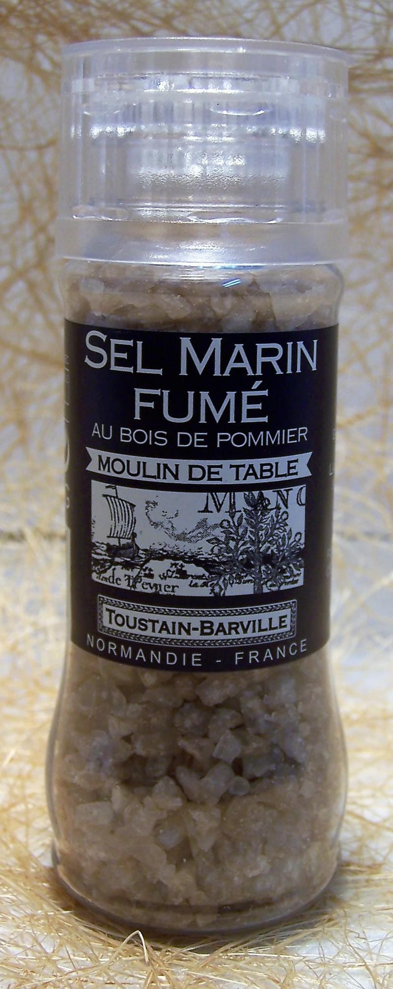 Sel marin fumé au bois de pommier - Condiments - La Cave d'Orgueil - Voir en grand
