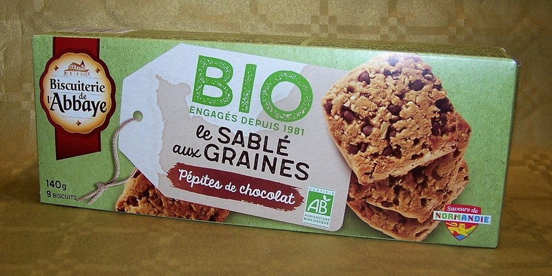 Le sablé aux graine - pépites de chocolat - Biscuits - La Cave d'Orgueil - Voir en grand