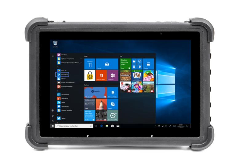 Tablette durcie Co-Worker CW10W - 10 pouces - IP65 - Tablette Durcie IP65 - CMEI - Voir en grand