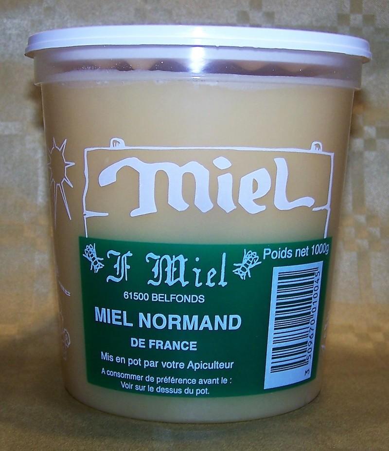 Miel Normand - Confitures et Miel - La Cave d'Orgueil - Voir en grand