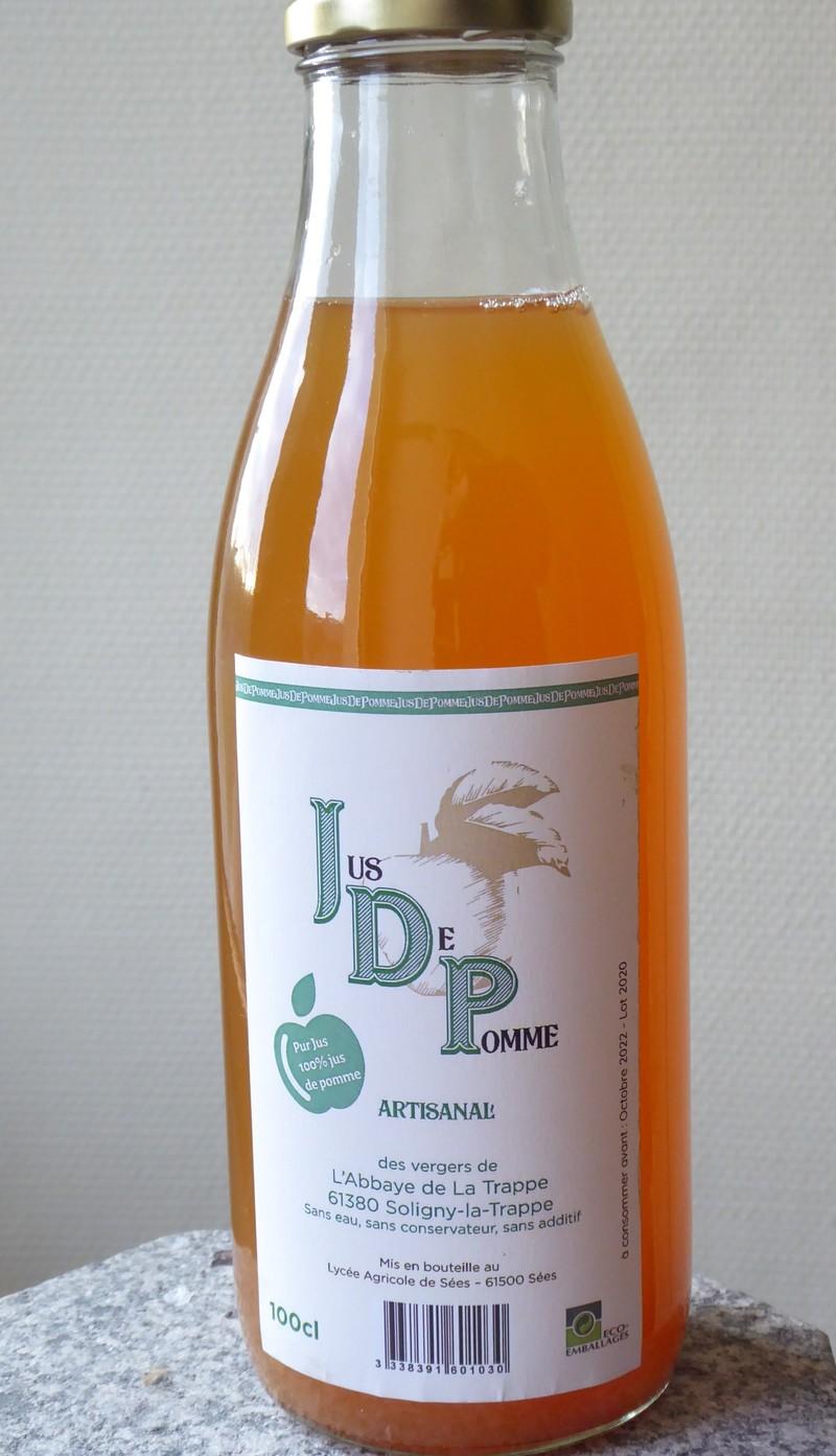 Jus de pomme 100% - Jus de pomme - SOLITRAP Magasin de l'Abbaye de La Trappe - Voir en grand