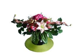 Potée  - Fleurs artificielles - COSY Cherry - Voir en grand