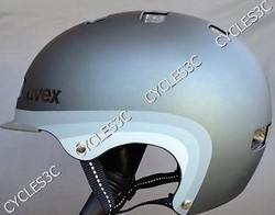 CASQUE UVEX CITY 5 GRIS MAT - BONNETERIE - CYCLES 3C - Voir en grand