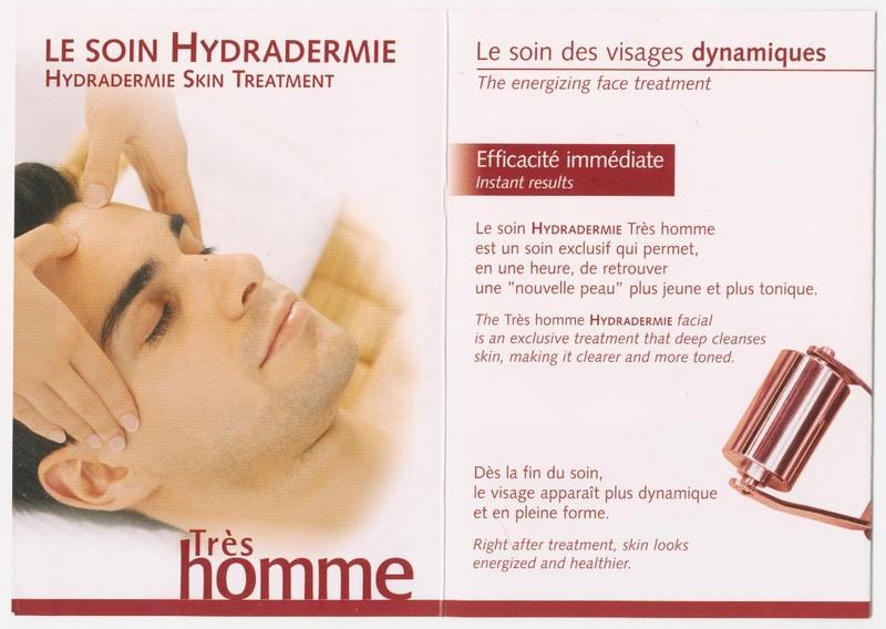soins esthétiques pour  hommes - soins hommes - Institut de beauté Krystyna - Voir en grand