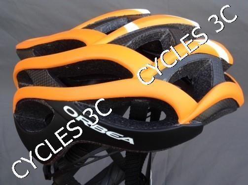 CASQUE ORBEA ODIN ORANGE - BONNETERIE - CYCLES 3C - Voir en grand