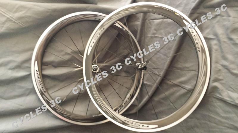 ROUES SHIMANO RS 81 C50 CL à pneu - ACCESSOIRES VELOS - CYCLES 3C - Voir en grand