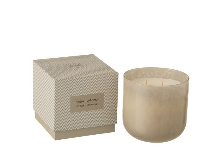 Bougie parfulée casa aroma - Bougies/Photophores/vases - ESPACE PLACARD - Voir en grand